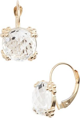 Anzie Dew Drop White Topaz Cluster Drop Earrings | Nordstrom