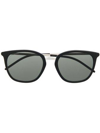Saint Laurent Eyewear Lunettes De Soleil SL375 Slim - Farfetch