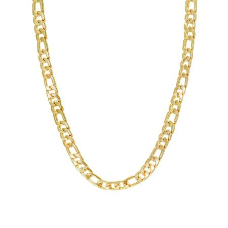 Chunky Figaro Chain– Chained+Able