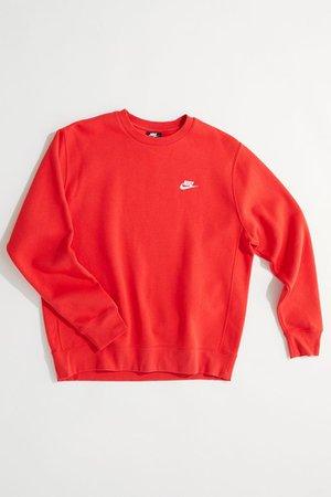 Nike Sportswear Club Crew Neck Sweatshirt | Urban Outfitters