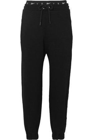 Reebok X Victoria Beckham | Pantalon de survêtement en jersey de coton | NET-A-PORTER.COM