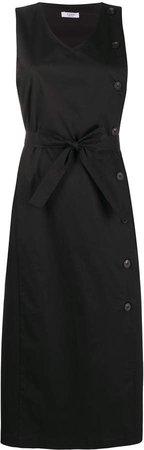 Sleeveless Tie-Waist Dress