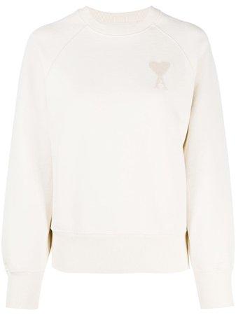 AMI Paris Ami de Coeur sweatshirt with Express Delivery - Farfetch