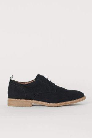 Derby Shoes - Black
