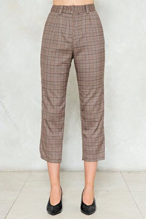 Shake It Out Plaid Pants | Shop Clothes at Nasty Gal!