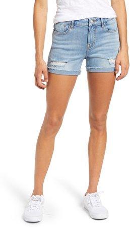 Marley Distressed Denim Shorts