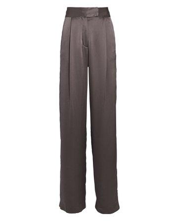 The Sei Pleated Silk Wide-Leg Pants   INTERMIX®