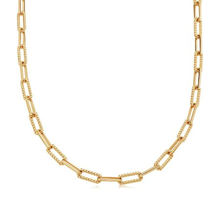 Gold Coterie Chain Necklace | Missoma Limited