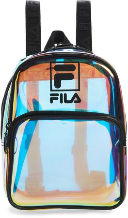 Zenon Clear Mini Backpack