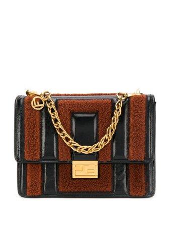 Fendi Kan U Shoulder Bag 8BT313A9X8 Black | Farfetch