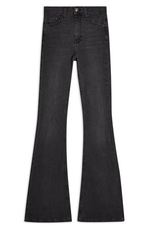 Topshop Jamie High Waist Flare Jeans | Nordstrom