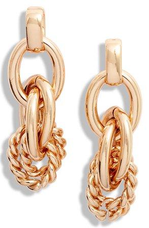 Nordstrom Linked Drop Earrings | Nordstrom