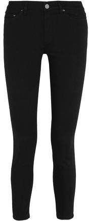 Skin 5 Cropped Mid-rise Skinny Jeans