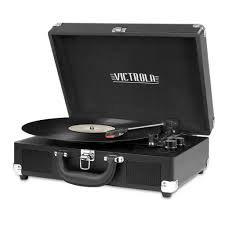 all black record player - Google Search