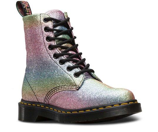 Rainbow Glitter Docs