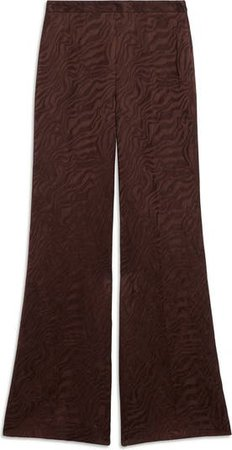 sandro Linen & Cotton Blend Wide Leg Pants   Nordstrom