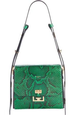 Givenchy Medium Eden Genuine Python Shoulder Bag | Nordstrom