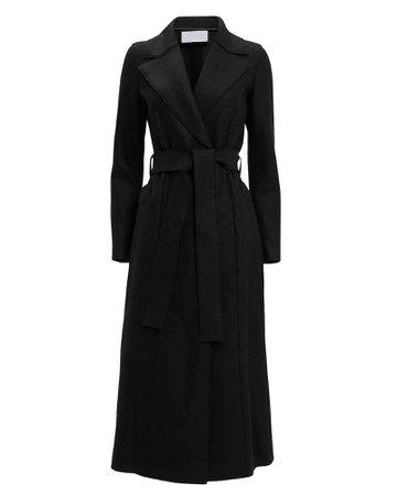 Black Long Duster Coat