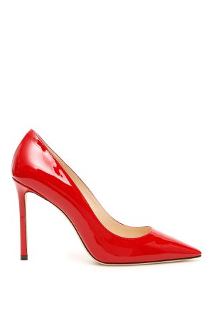 Jimmy Choo Patent Romy 100 Pumps