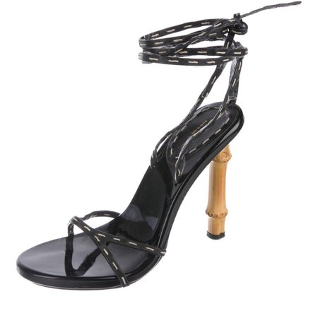 gucci tom ford bamboo heels