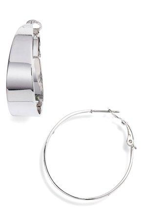 Vince Camuto Medium Tapered Hoop Earrings | Nordstrom