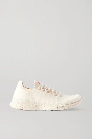 Techloom Breeze Mesh Sneakers - White
