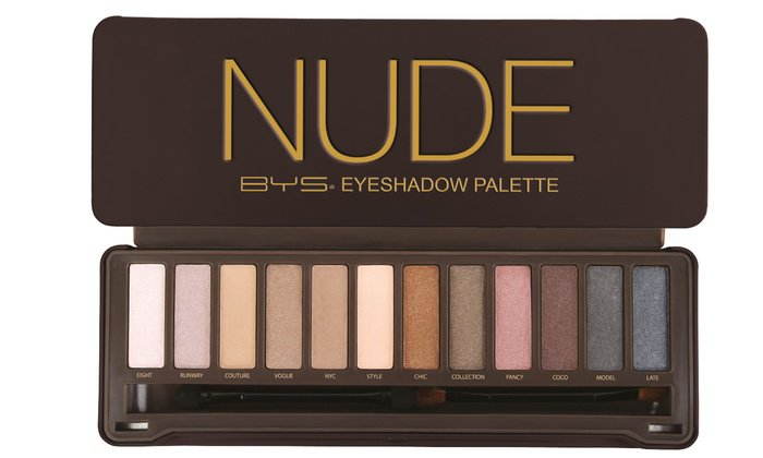 Up To 8% Off on BYS Nude Eyeshadow Palette | Groupon Goods