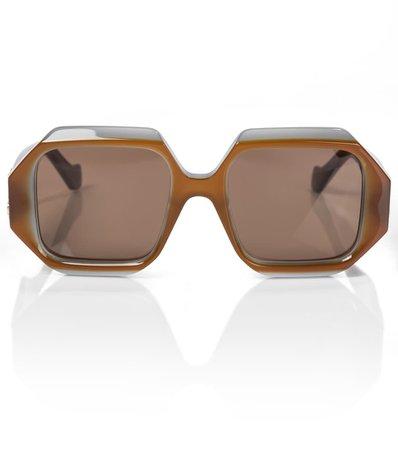 LOEWE - Anagram hexagonal sunglasses   Mytheresa