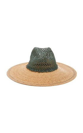 Screen Door Raffia Hat by Lola Hats | Moda Operandi