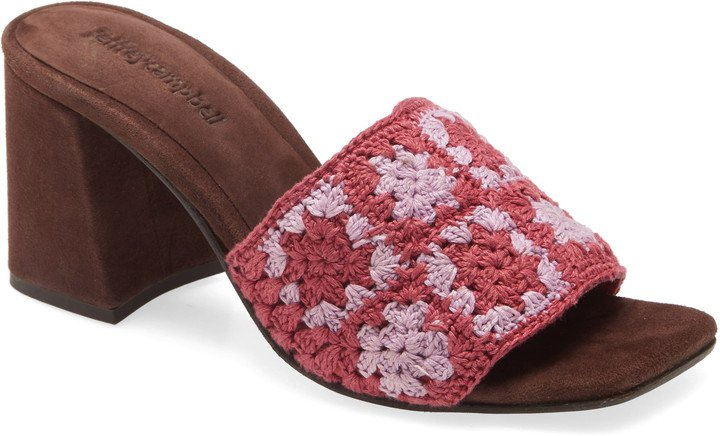Mixup Block Heel Slide Sandal