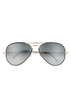 Ray-Ban Aviator 58mm Sunglasses | Nordstrom