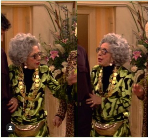 Grandma Yetta from The Nanny