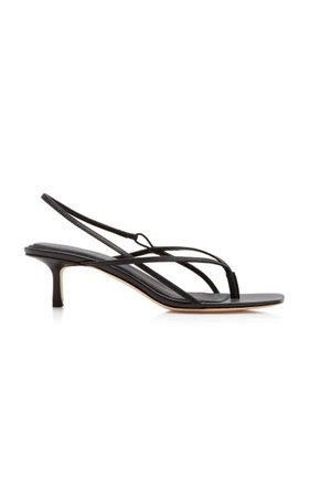 Leather Slingback Sandals By Studio Amelia   Moda Operandi