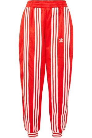 adidas Originals | + Ji Won Choi striped cotton-blend jersey track pants | NET-A-PORTER.COM