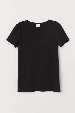 Jersey Top - Black