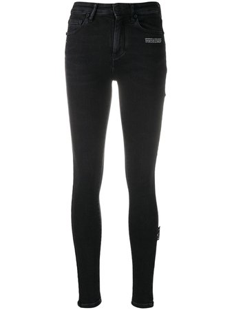 Off-White mid-rise Skinny Jeans - Farfetch