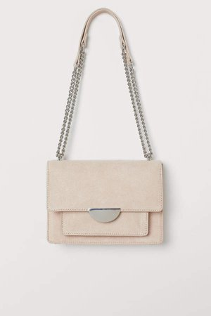 Small Shoulder Bag - Beige