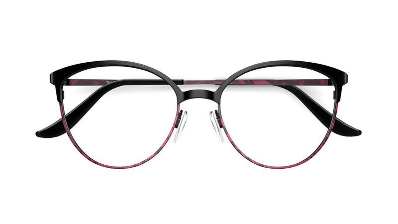 Ultralight Women's glasses CACCINI   Black Frame £129   Specsavers UK