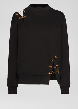 Versace Safety Pin Sweatshirt for Women | US Online Store