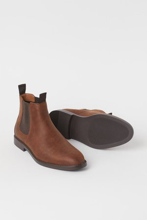Chelsea Boots - Brown - Men | H&M US