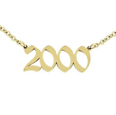 2000 year necklace