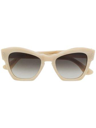 Alberta Ferretti Square Frame Sunglasses - Farfetch