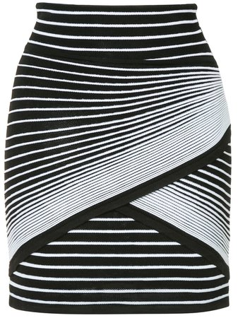 Balmain striped mini skirt $1,504 - Buy Online - Mobile Friendly, Fast Delivery, Price