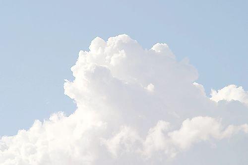 soft blue clouds