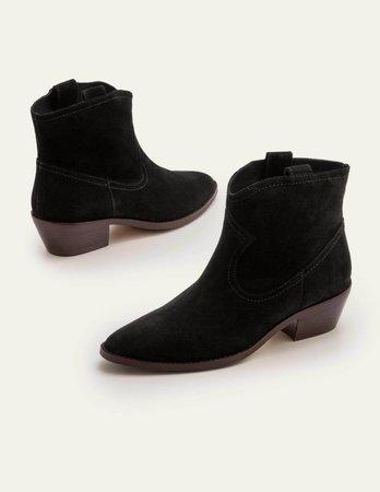Allendale Ankle Boots - Black | Boden US