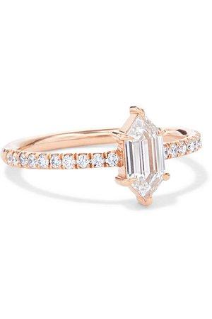Anita Ko   18-karat rose gold diamond ring   NET-A-PORTER.COM