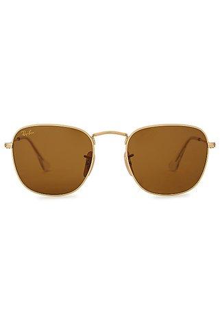 Ray-Ban Frank Legend G-15 oval-frame sunglasses - Harvey Nichols