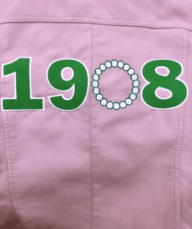 Custom 1908 Pink Moto Jacket (Pre-Order) – Styleverde