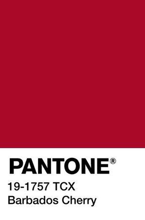PANTONE Color: Barbados Cherry
