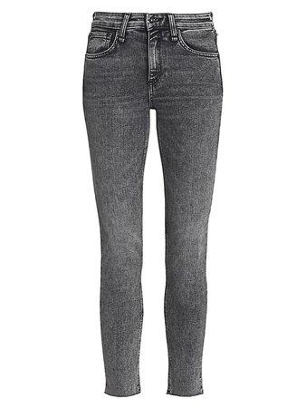 Rag & Bone Cate Mid-Rise Ankle Skinny Jeans | SaksFifthAvenue